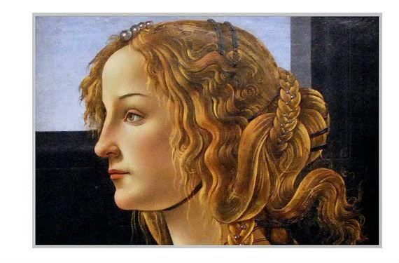 Simonetta Vespucci fue considerada la mujer más bella del Renacimiento