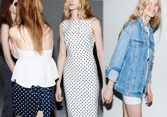 Zara TRF, primavera-verano 2014