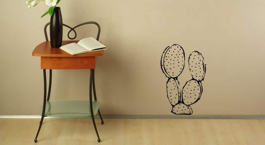 Cactus wall vinyl