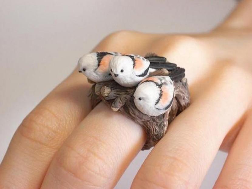 Anillos animales de Jiro Miura