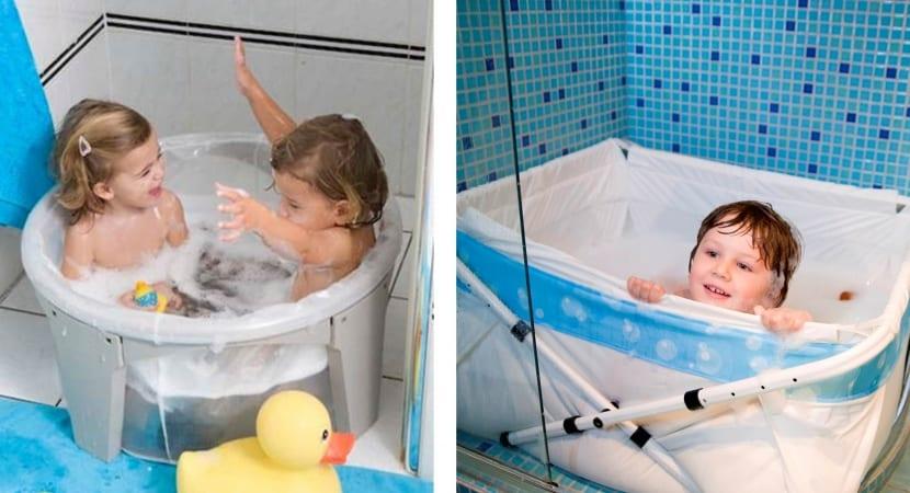 Bañeras infantiles para ducha