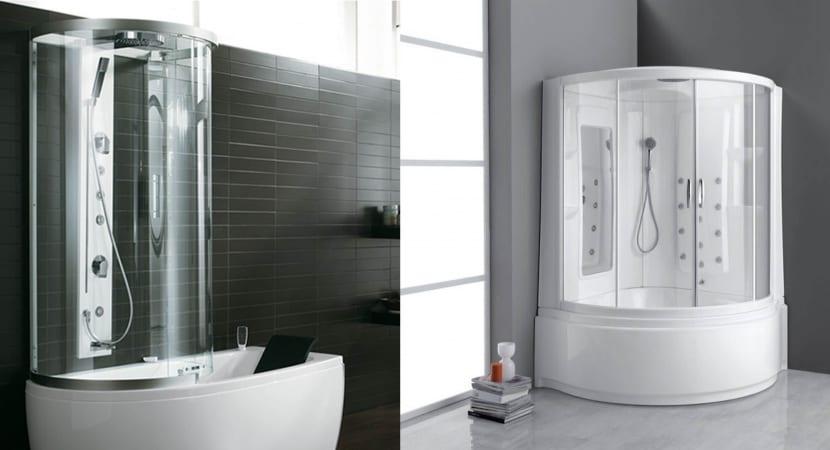 Bañera + ducha con hidromasaje