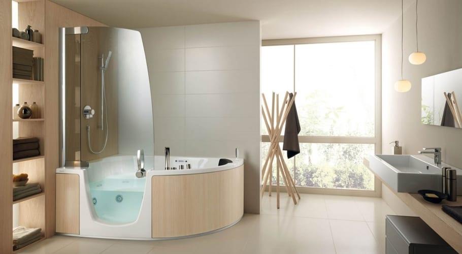 Baño y ducha combinados de Teuco