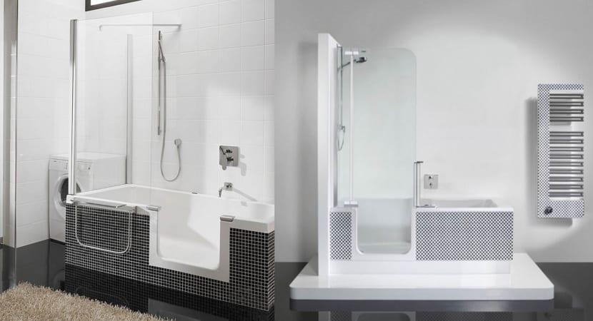 Ba+Baño y ducha en uno - Diseño compacto