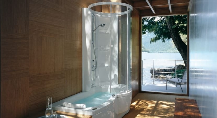 Bathtub-shower-combination