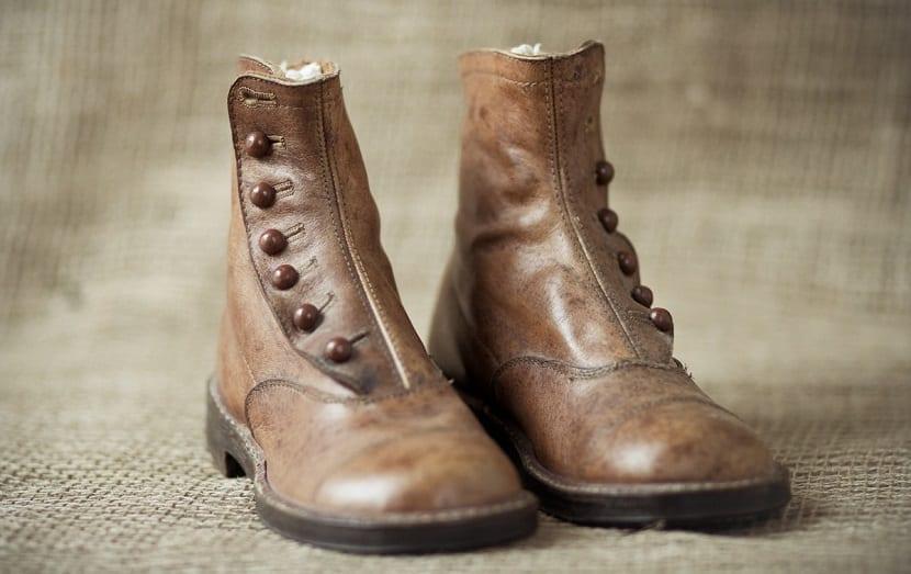 zapato de cuero mujer marron