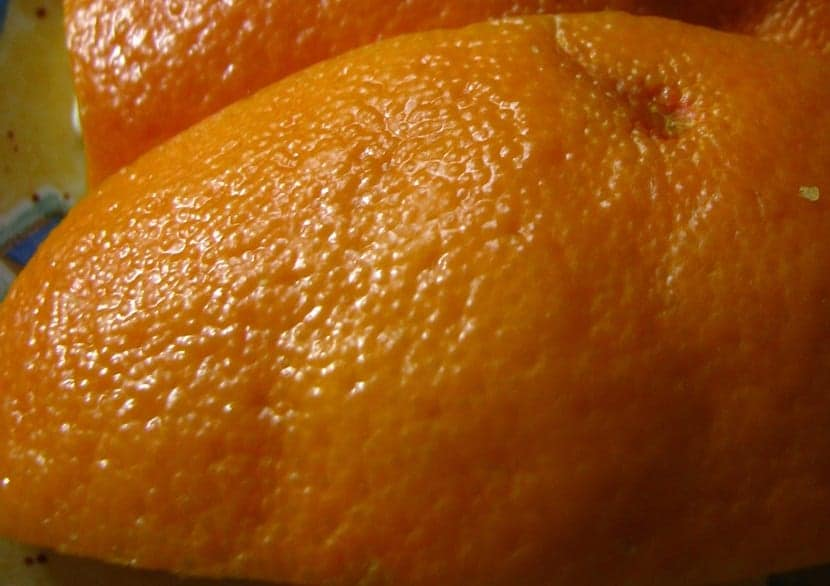 celulitis naranja