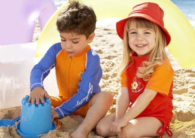 Exposición solar en niños