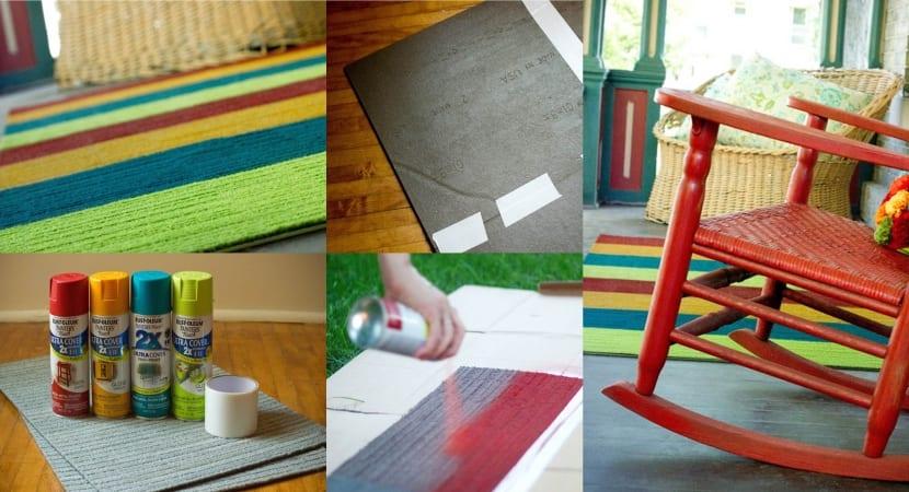 DIY - Alfombra para exterior