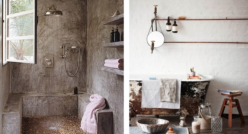 Wabi Sabi bathrooms