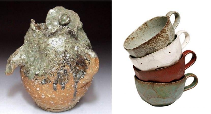 Wabi Sabi old vases