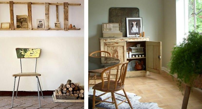 Wabi Sabi style furniture