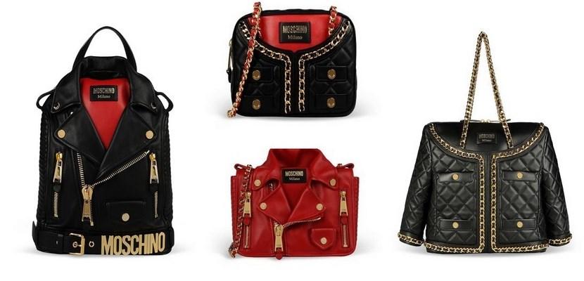 Bolsos chaquetas Moschino