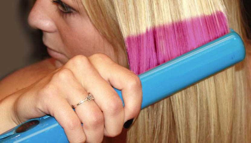 plancha color pelo
