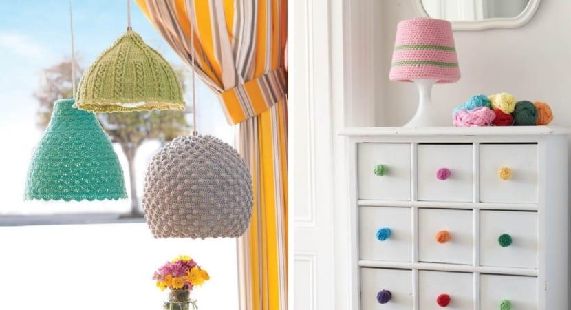 Propuestas de lamparas en crochet