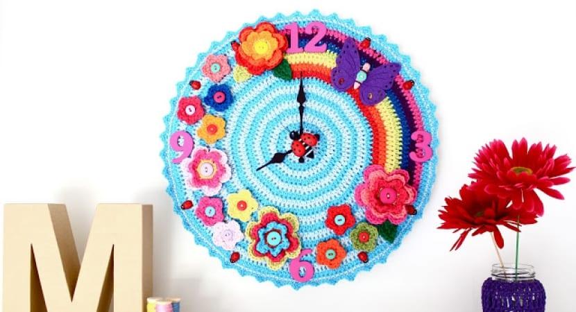 Reloj en crochet
