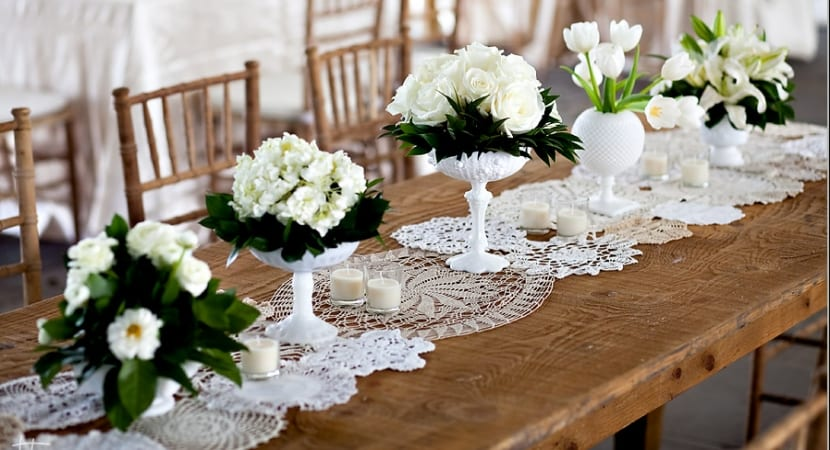 Tapetes de ganchillo para la mesa