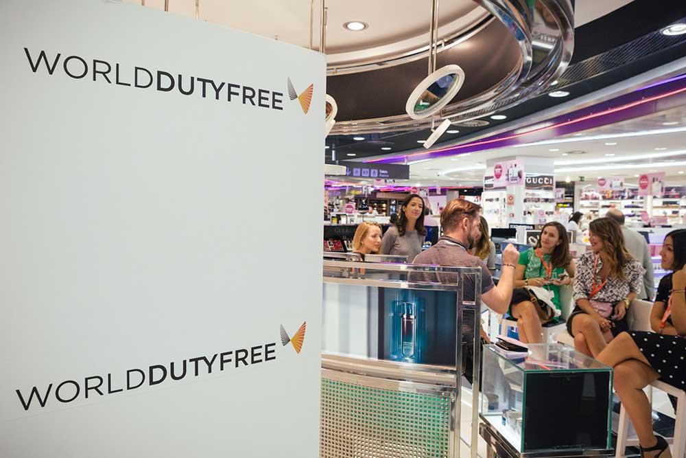 De compras por el aeropuerto con World Duty Free