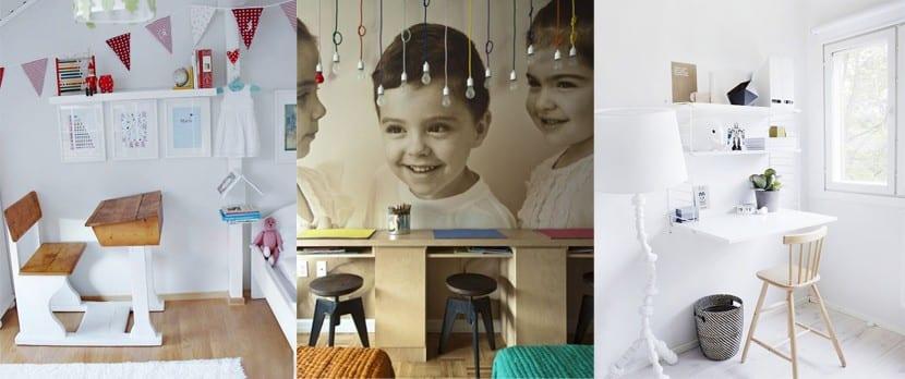 Zona de estudio para niños