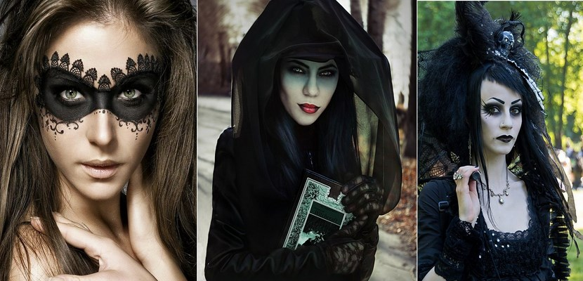 Tres ideas de maquillaje para Halloween