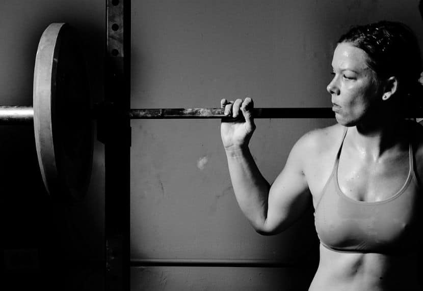 pesa barra mujer