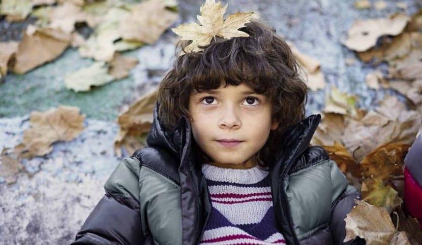 Protección contra el frío en niños