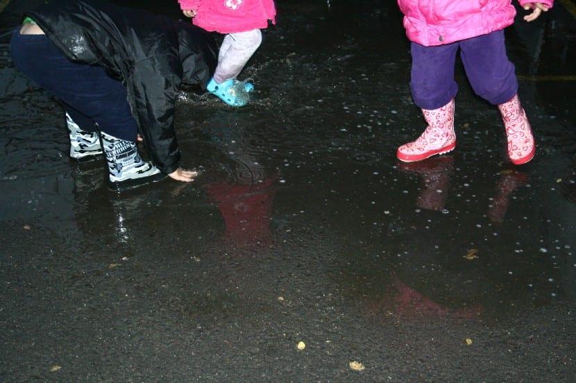 Qué hacer con los niños en los días de lluvia
