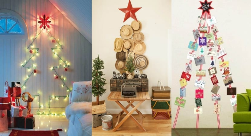 Arboles navideños version DIY