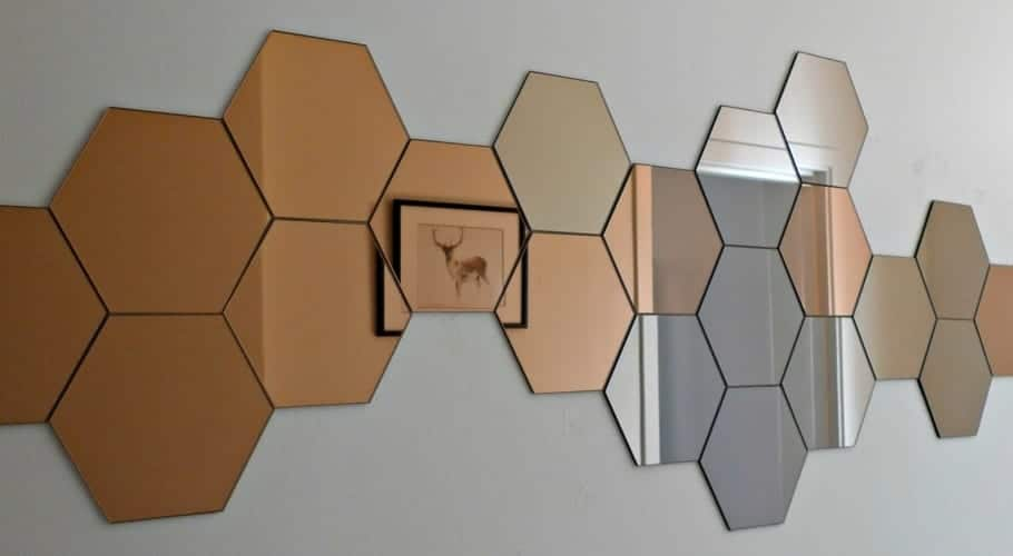 Hex gonos como leit motiv decorativo - Formas de espejos ...