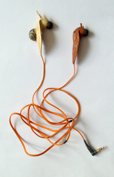 Auriculares de caracoles