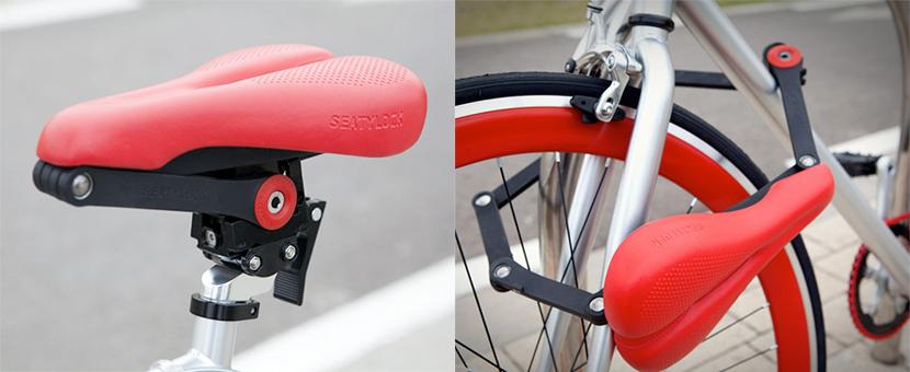 Bicicleta con sillón antirrobos