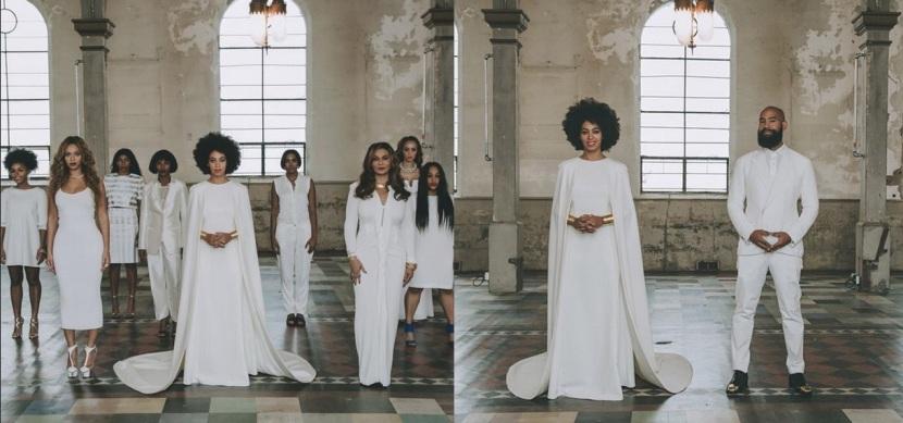 Boda de Solange Knowles, hermana de Beyoncé