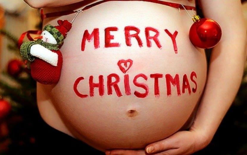Embarazo y navidad