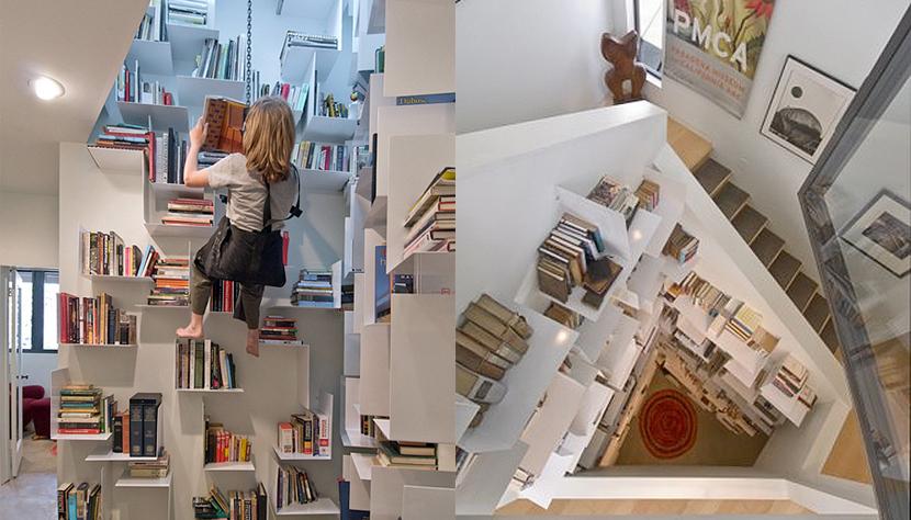 Libreria en escalada