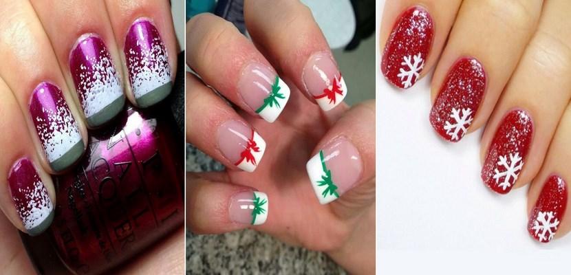 Ideas de manicura para las Fiestas Navideñas