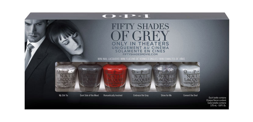 OPI 50 sombras de grey