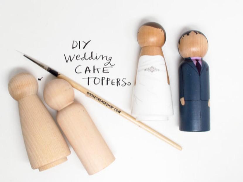 Muñecos de boda para personalizar