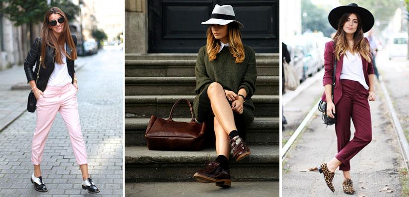 Streetstyle: Zapatos con cordones
