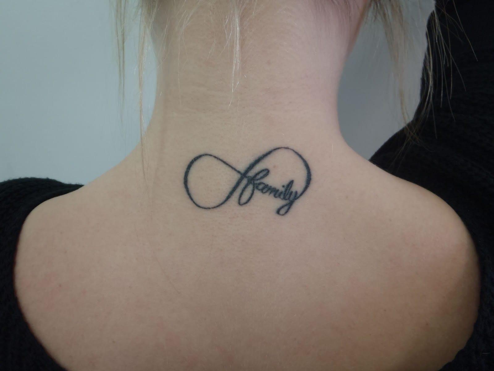 Como Hacer Un Diseño Para Tatuaje ideas de tatuajes con símbolo infinito para mujeres