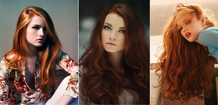 Colores rojizos para tu cabello