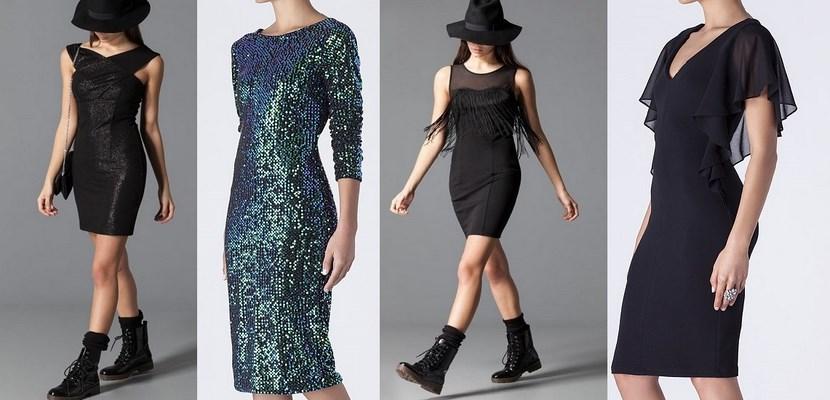 Vestidos cortos para Navidad 2014
