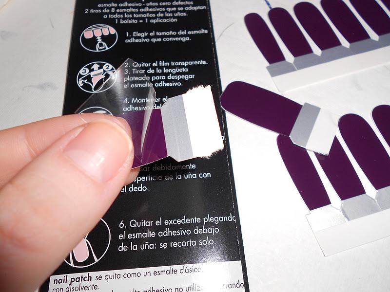 Esmaltes adhesivos para uñas
