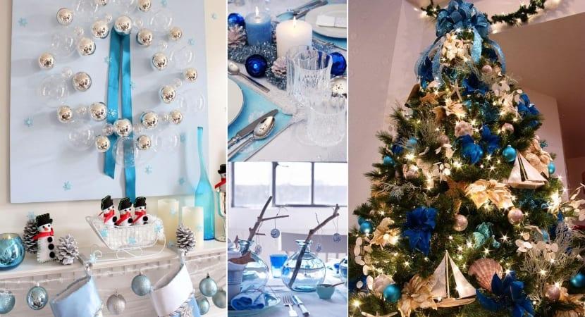 Navidades en azul (cielo o indigo)