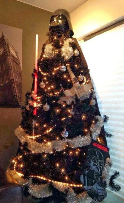 Arbol de Navidad Darth Vader