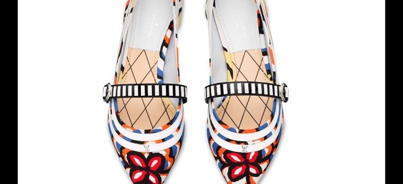 Zapatos psicodélicos Louis Vuitton