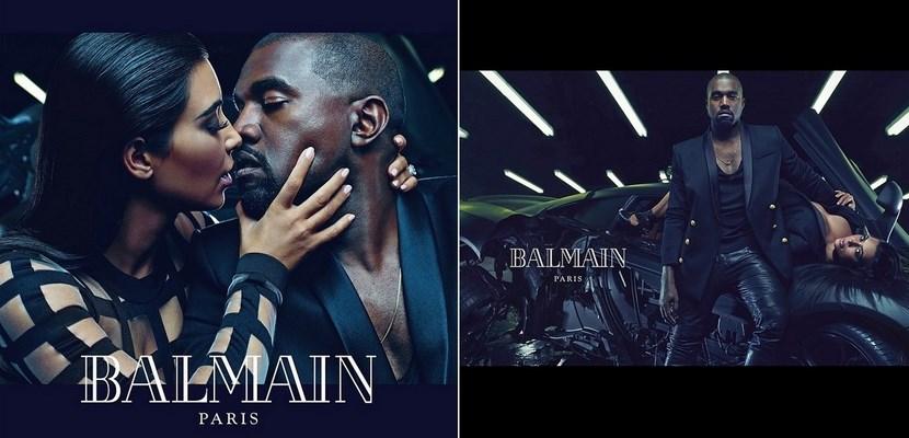 Campaña de moda Balmain 2015