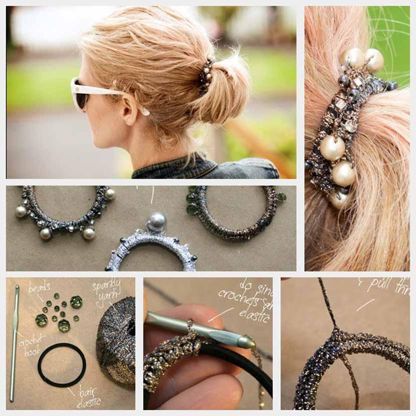 C mo hacer accesorios de fiesta para el cabello - Como hacer adornos para el pelo ...