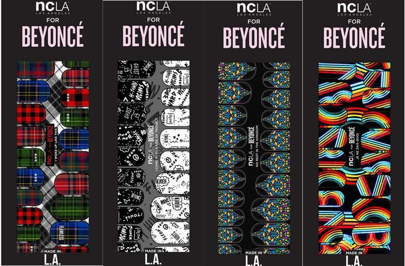 Uñas NCLA para Beyoncé