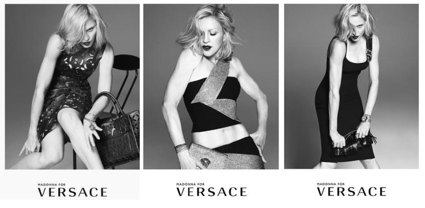 Nueva campaña de Madonna para Versace