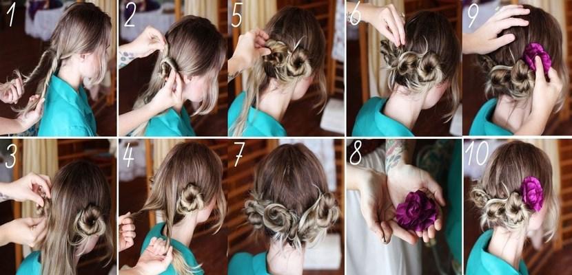 Peinado bohemio en cinco minutos